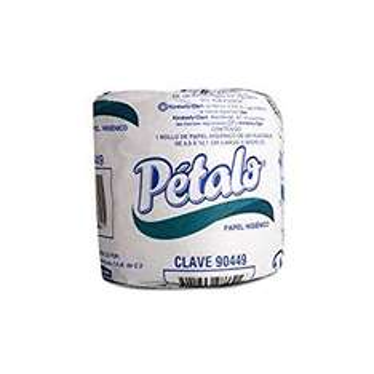 Amazon: Papel higiénico pétalo 96 rollos