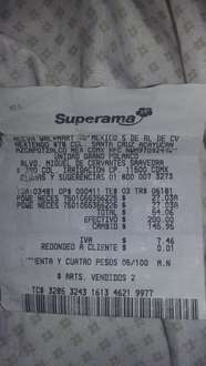 Superama: Powerade + Neceser a $27.03