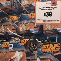 Chedraui Tenayuca: Naves Star Wars Hot Wheels