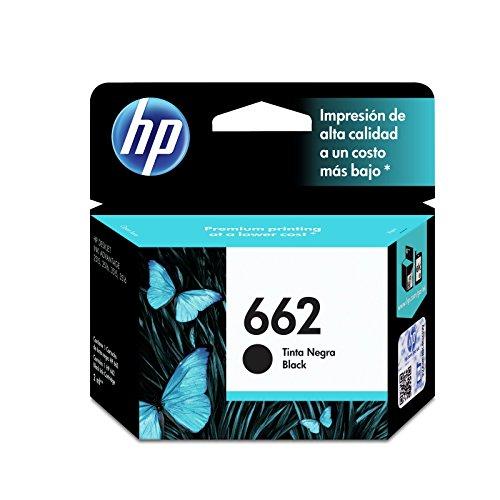 Amazon: Cartucho HP 662 Color Negro a $33 + $96 de envío (vendido por un tercero)