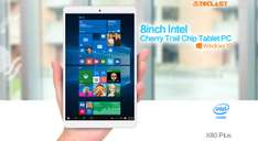 GearBest: Tablet Teclast X80 Plus 8' Dual Windows+Android, 32gb Windows 10 Incluye envio DHL