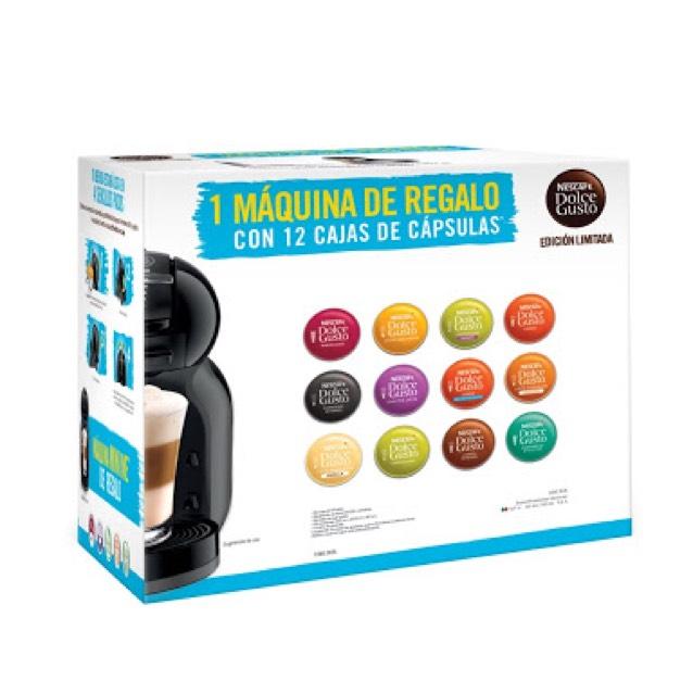 Superama: Cafetera Melody Dolce Gusto + 12 cajas de cápsulas