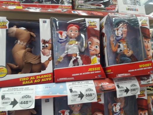 Mega Comercial Mexicana: Figuras Toy Story 50% de descuento