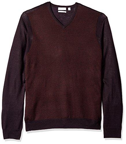 Amazon: Suéter Calvin Klein color marrón talla grande