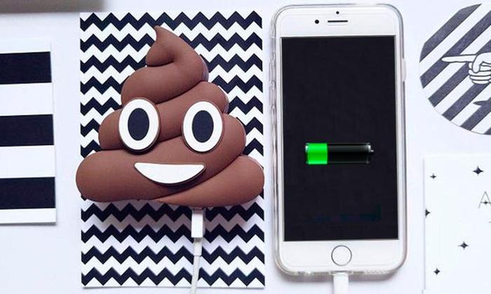 Groupon: PowerBank Emojis -  Incluye Envío