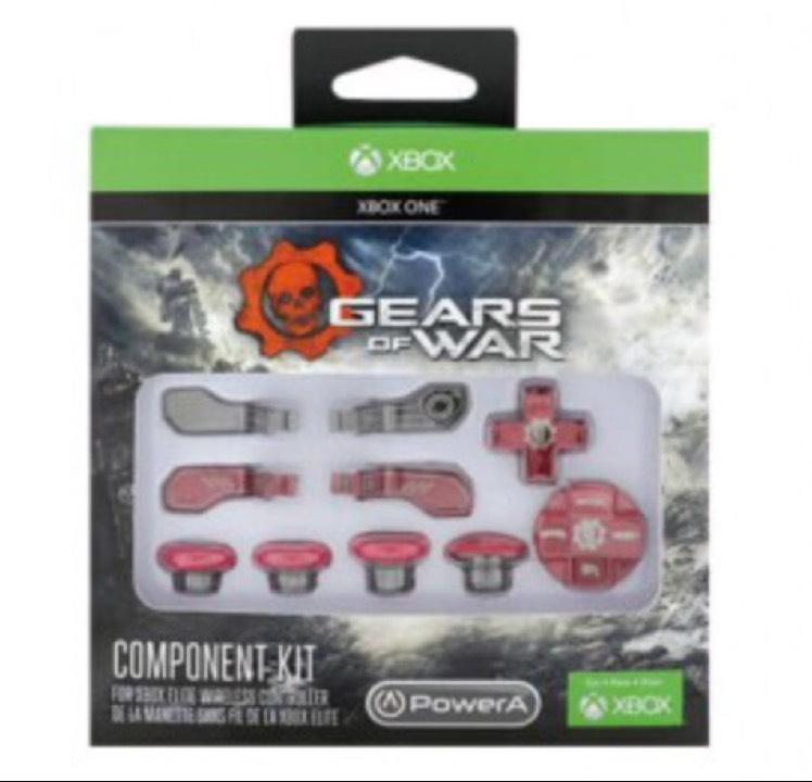 Gameplanet: kit de aditamentos para control elite de Xbox One.