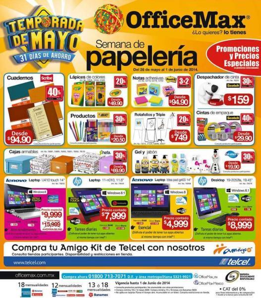 OfficeMax: semana de papelería