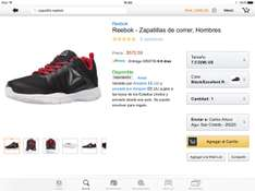 Amazon: Tenis Reebok Run 7.5(M)us  5 1/2mex (prime)