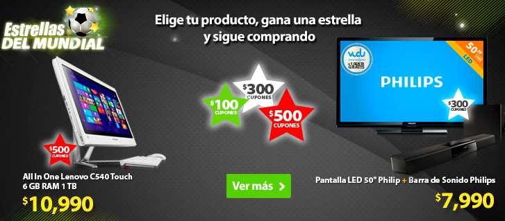 Walmart estrellas del mundial: ofertas en diferentes categorías