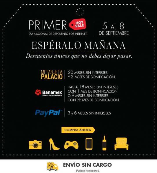 Ofertas de Hot Sale México 2014 en Palacio de Hierro