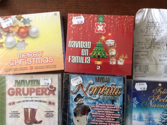 Vips: CDs originales de Navidad