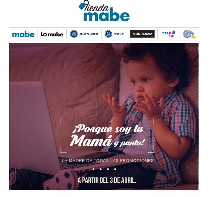 Mabe: la madre de todas las promociones, hasta 50% en articulos seleccionados