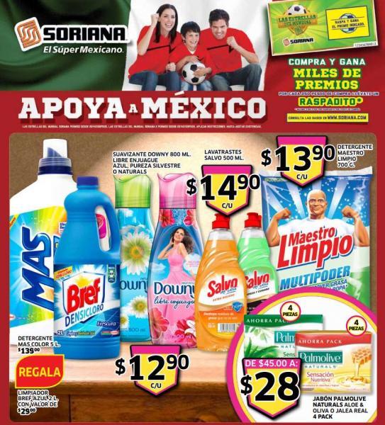 Folleto de ofertas Soriana del 23 de mayo al 5 de junio