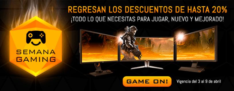 Cyberpuerta: Semana Gaming, Gigabyte RX 480 8GB en 4319 o menos