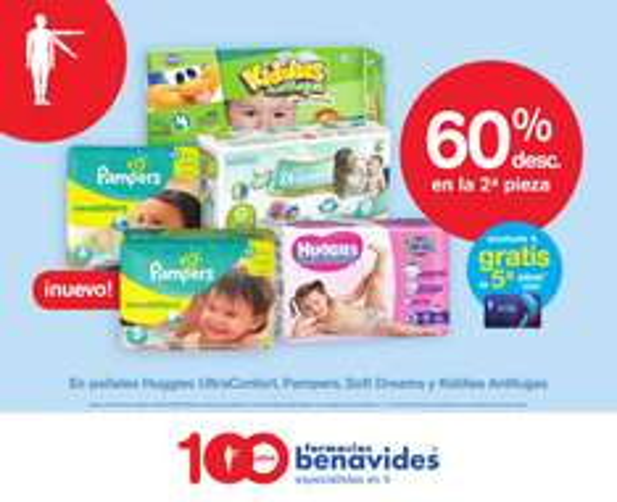 Farmacias Benavides: 2x1, 3x2 descuentos, ahorros y más folleto