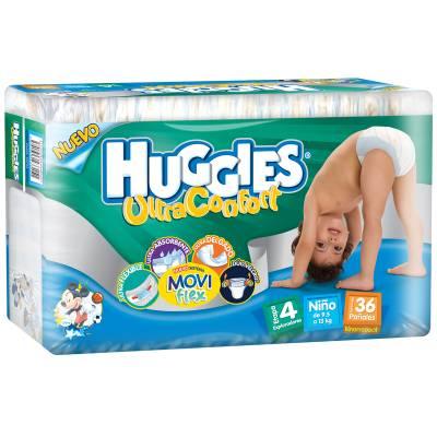 Superama: 2 paquetes de pañales Huggies varias etapas por $220.00