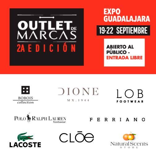 Outlet de Marcas descuentos del 40% al 70% (Guadalajara)