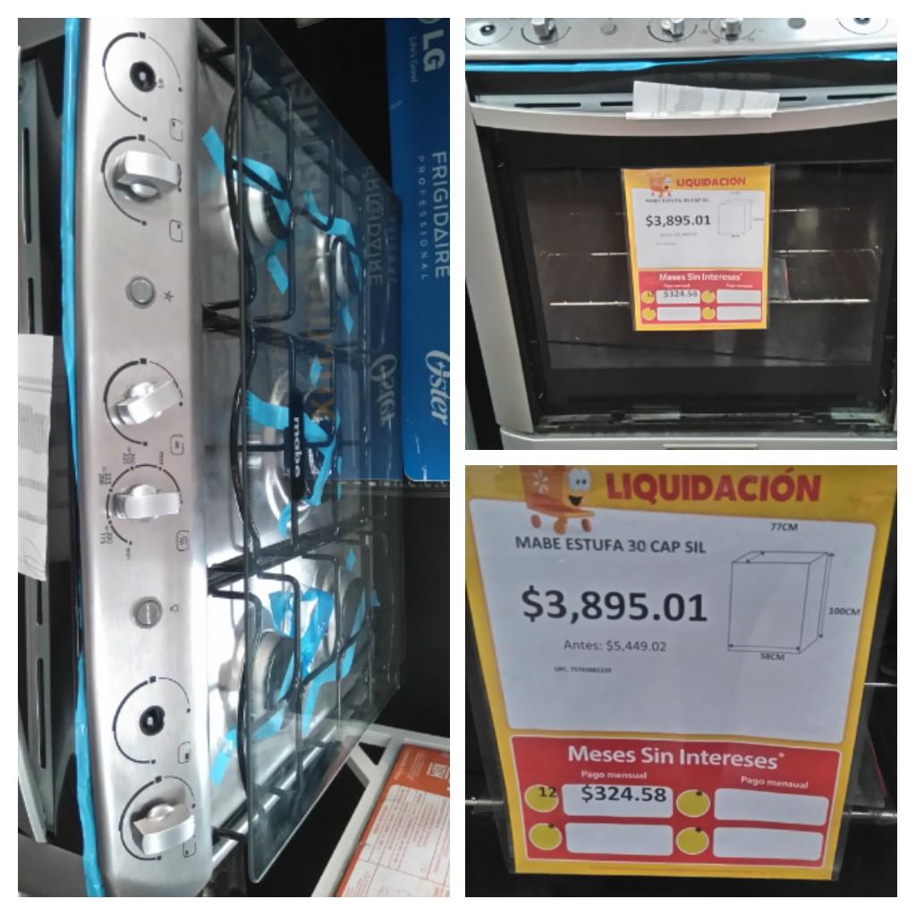 Walmart Valle de Chalco: Estufa Mabe 30 pulgadas