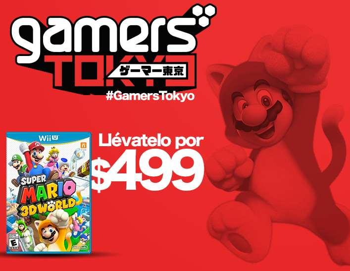 Gamers: descuentos en juegos de Capcom, Nintendo, Namco y más (ej: Super Mario 3D World $499)