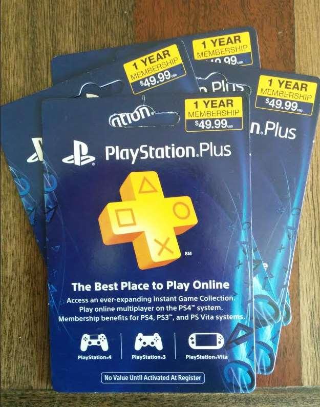 Regalaremos 4 suscripciones de 1 año para PlayStation Plus