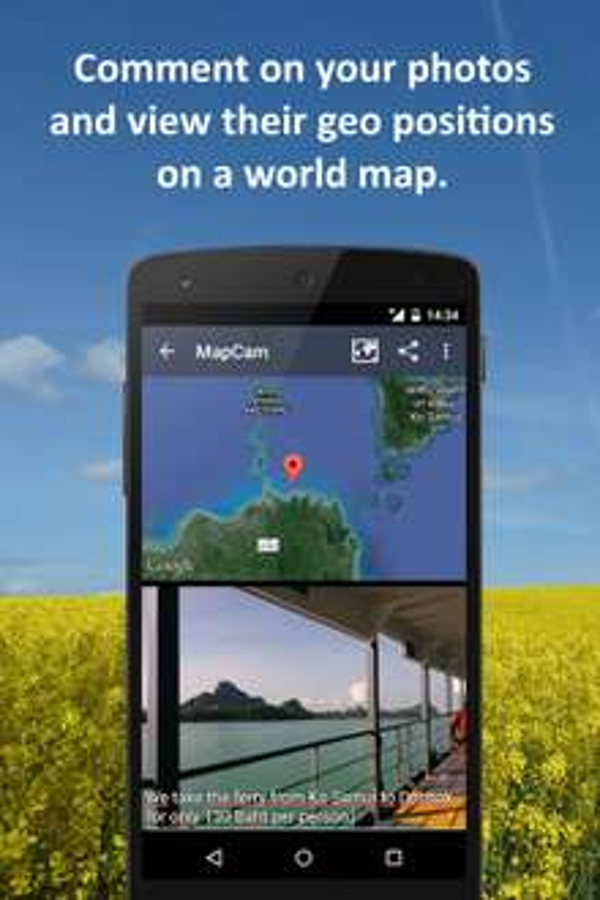 Google Play: MapCam GeoCam GRATIS