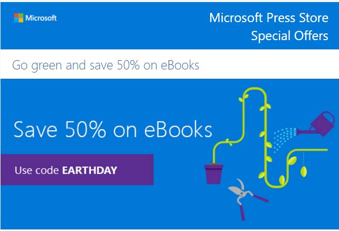 Microsoft Press Store: 50% de descuentos en ebooks Microsoft Press
