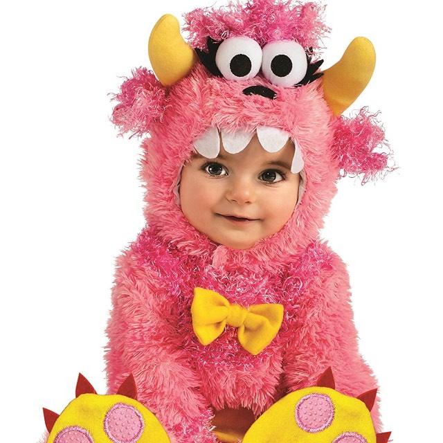 Amazon: disfraz para niña de 12 a 18 meses color pink [Prime]