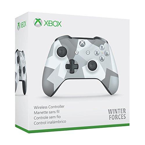 Amazon: Control inalámbrico pata Xbox One, Winter Forces con MasterCard
