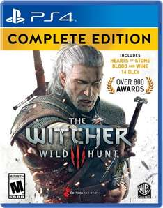 Amazon: The Witcher 3 Complete Edition para PS4 $499 con MasterCard