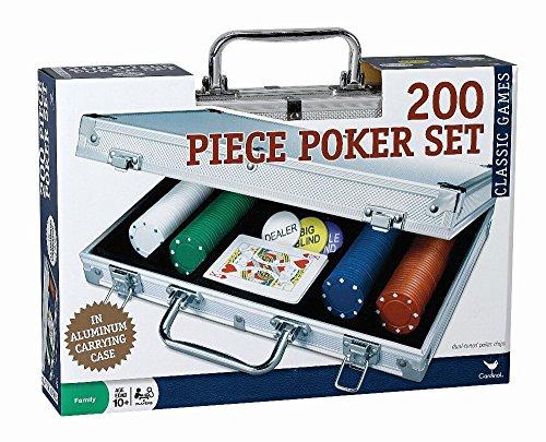 Amazon: 200 fichas de poker, en maletin de aluminio. [PRIME]