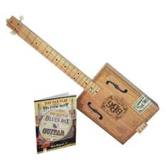 Amazon: Kit de Cigar Box Guitar, Hinkler EBB Electric Blues Box Slide