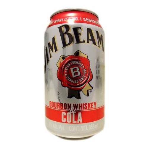 Walmart y Superama: 2x1 en bebida preparada con whisky Jim Beam en lata