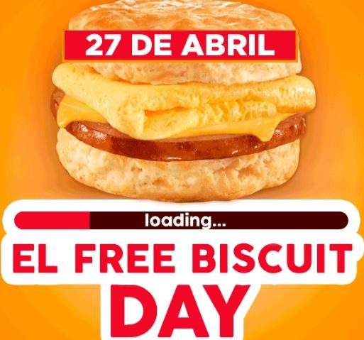 Carl's Jr: Biscuits Gratis el Jueves 27 de Abril (Nuevo León, Saltillo Coahuila y León Gto)