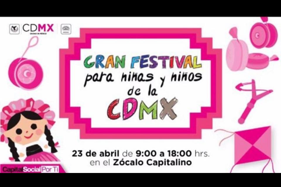 CDMX FESTIVAL Y BICIESCUELA INFANTIL