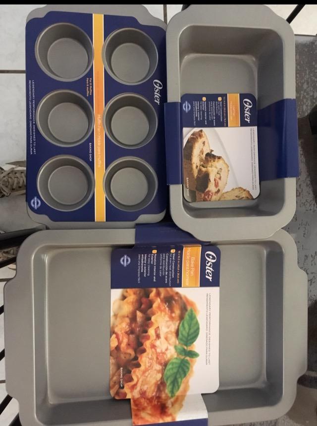 Walmart: Refractarios Oster para hornear