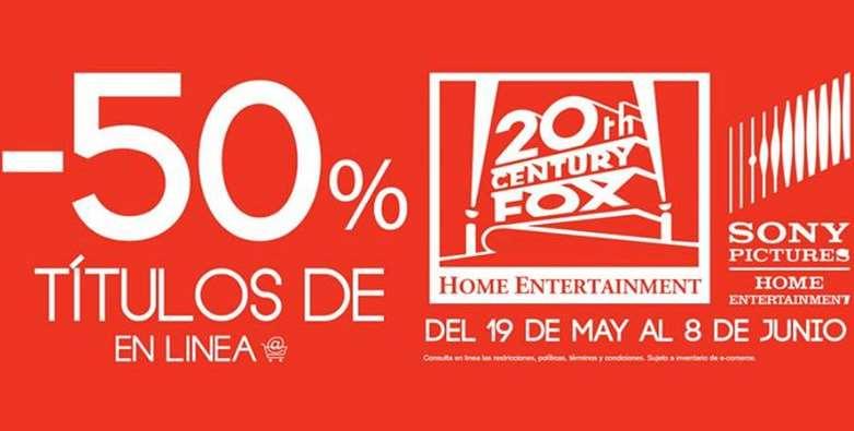 Blockbuster: 50% de descuento en películas Sony y Fox