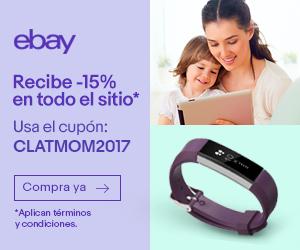 eBay: cupón 15% en todo el sitio en compras desde $10 DOLARES