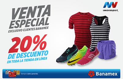 Martí e InnovaSport: 20% de descuento en toda la tienda online