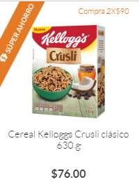 Superama: Para los Cruslimaníacos, Crusli 2x$90