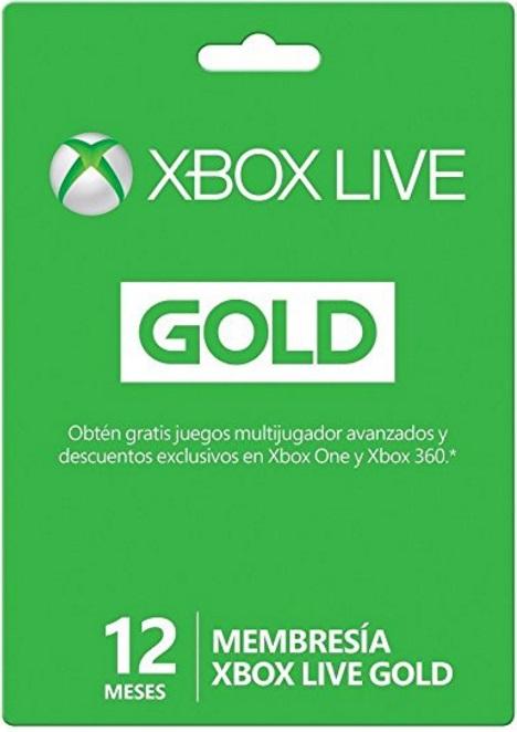 Amazon: 12 Meses Xbox Live Gold por 649 aplicando cupón de 200 pesos con Mastercard