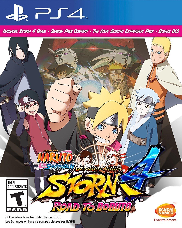 Amazon: Naruto Shippuden: Ultimate Ninja Storm 4 Road To Boruto para PS4