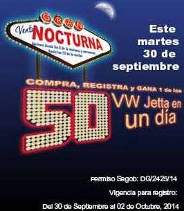 Venta nocturna Office Depot 30 de septiembre