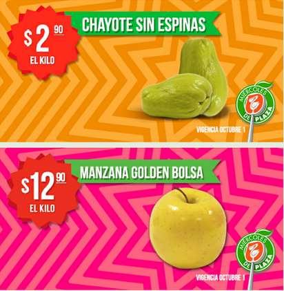 Miércoles de plaza en La Comer octubre 1: manzana $13 el kilo y más