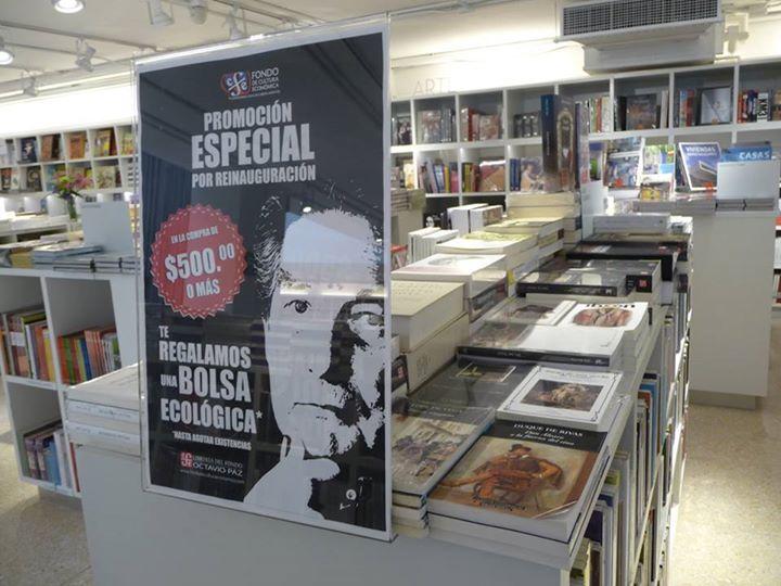 35% de descuento en Libreria FCE Octavio Paz DF