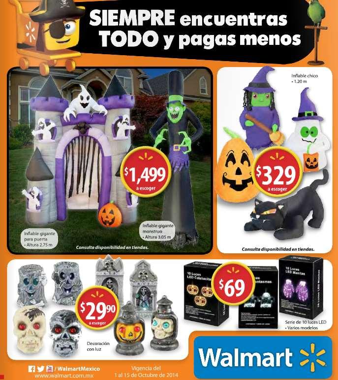 Folleto de ofertas en Walmart del 1 al 15 de octubre