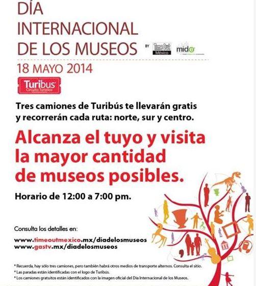 Día internacional de los museos mayo 18: entrada gratis a decenas de museos (DF)