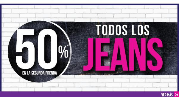Suburbia: 2x1 y medio en todos los jeans