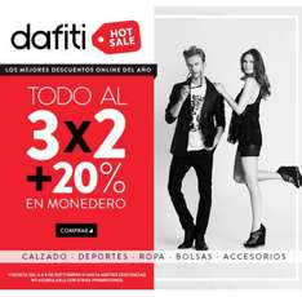 Ofertas de Hot Sale México 2014 en Dafiti