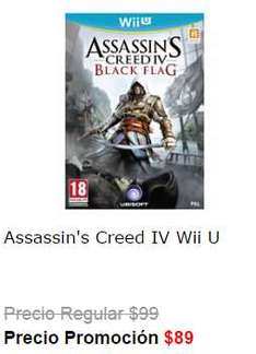 Liverpool: Assassin's Creed 4 Black Flag para Wii U $89