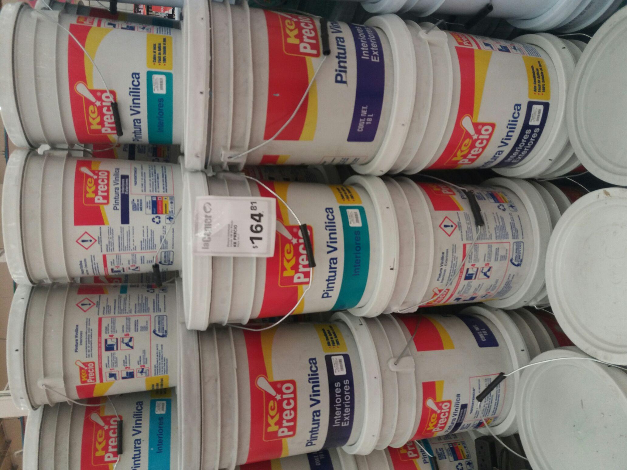 La comer pintura vinilica ke precio con pil n - Pintura bruguer precio ...